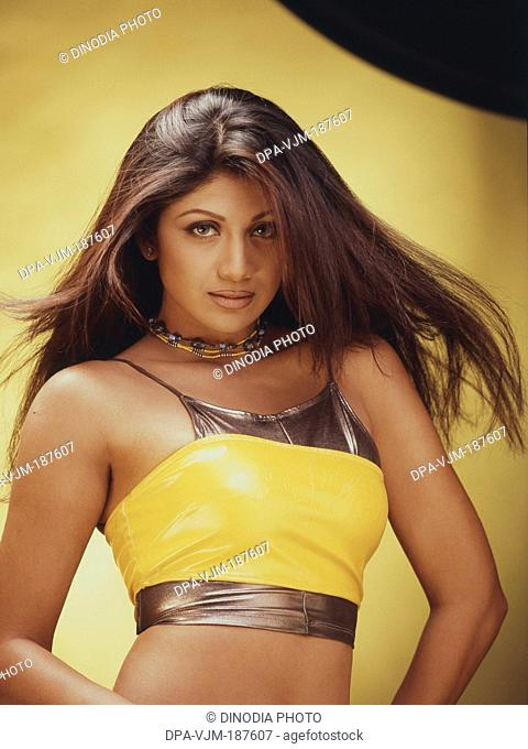 2003, Portrait of Indian film actress Shilpa Shetty