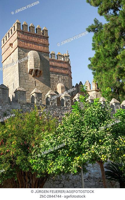 San Marcos Castle, town El Puerto de Santa Maria, province of Cádiz, Spain