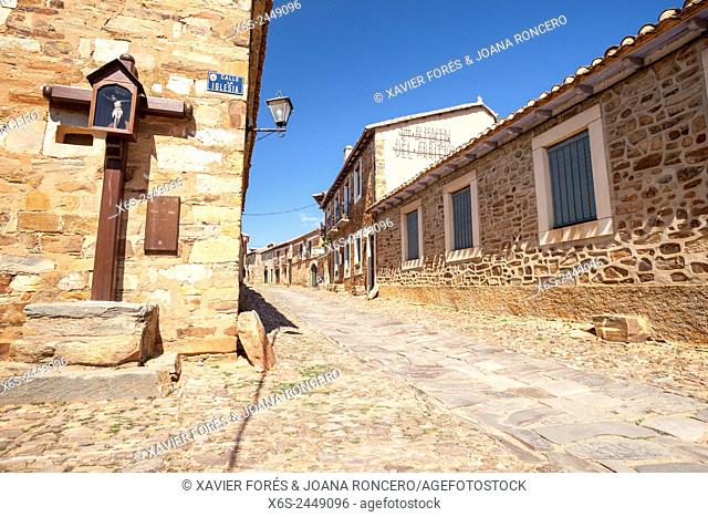 Castrillo de los Polvazares, Way of St. James, Leon, Spain