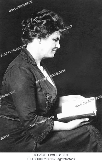 Grace Livingston Hill, early 20th-century American novelist. Ca. 1920. She wrote under her real name and the pseudonym Marcia Macdonald