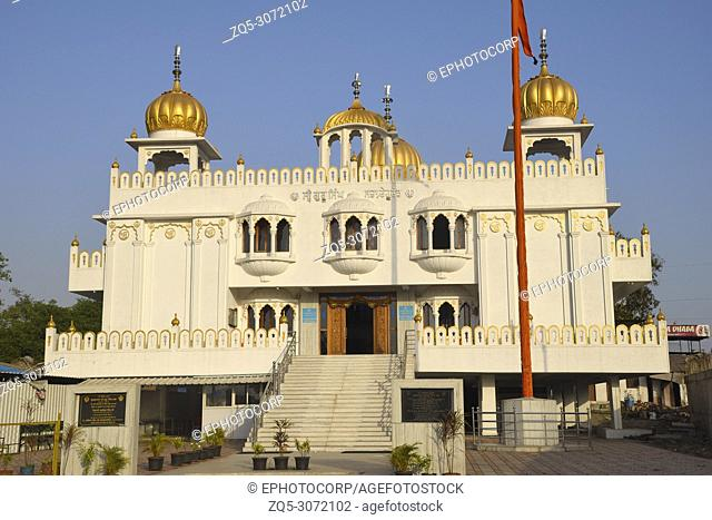 Front View, Gurudwara Guru Singh Sahib, Dehu Road, Pune, Maharashtra