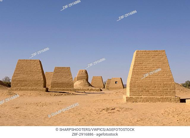 The Tombs of Garamantes, Jarma (Germa), Fezzan, Libya