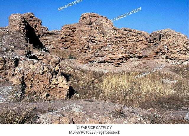 Archeological Hellenistic, Parthian and Roman site - Town founded by Seleucus Nicator, officer of Alexander the Great, 300 years BC on an escarpment ninety...