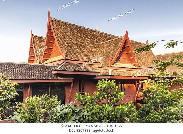 Thailand, Bangkok, Siam Square Area, Jim Thompson House, exterior