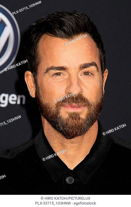 """Justin Theroux 12/09/2018 The Global Premiere of """"""""Bumblebee"""""""" held at TCL Chinese Theater in Los Angeles, CA Photo by Hiro Katoh / HNW / PictureLux"""