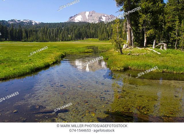 Lassen Peak,Lassen Volcanic National Park, California, USA