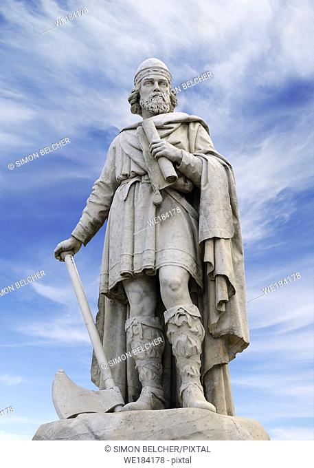 Alfred the Great Statue, Wantage, England, United Kingdom