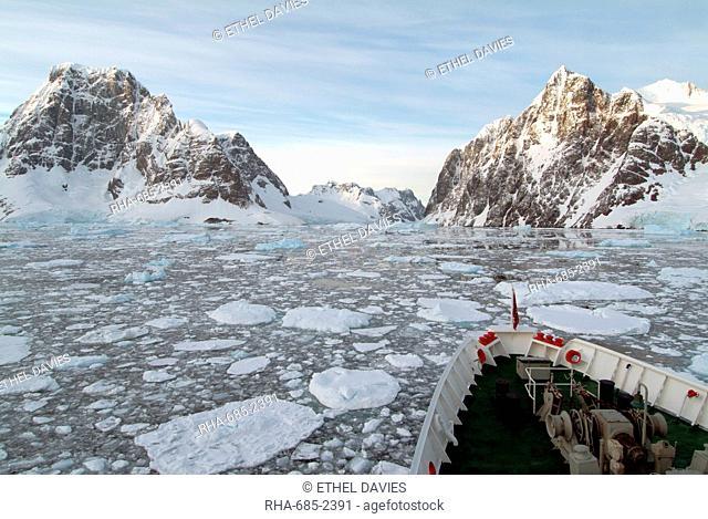 Lemaire Channel, Antarctica, Polar Regions