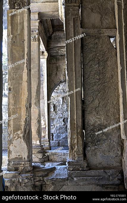 Temple of Diana, Nimes, Gard, France