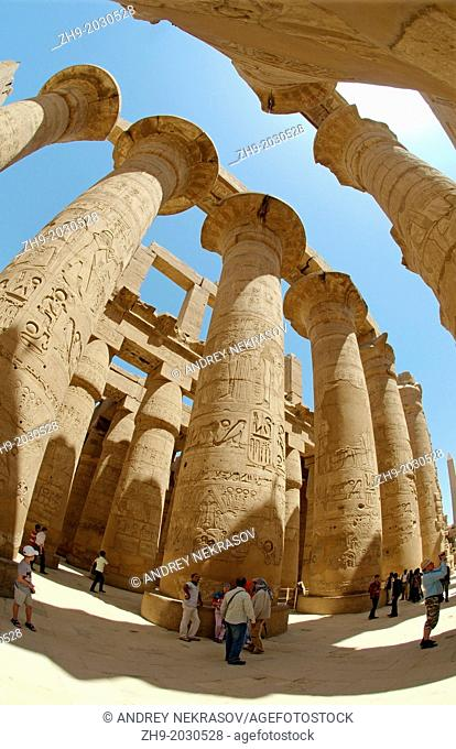 Karnak Temple Complex, Luxor (Thebes), Egypt, Africa.1015