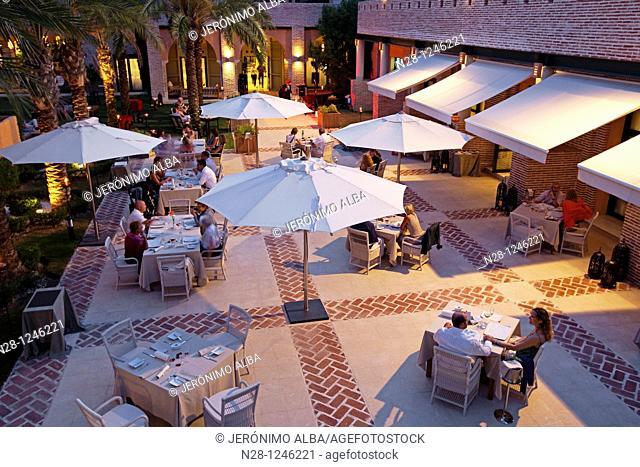 Restaurant and entertainment, Vincci Estrella de Mar Hotel, Marbella, Málaga province, Andalusia, Spain