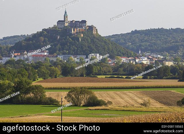 Gussing castle in Burgenland, Eastern Austria