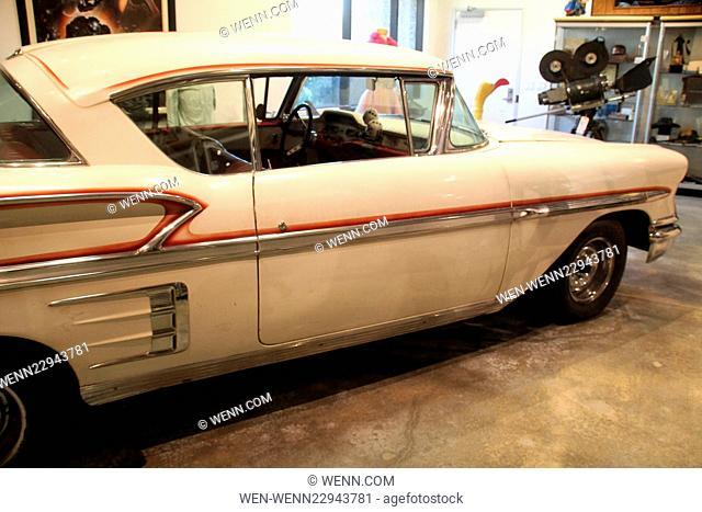 "Profiles In History Multi-Million Dollar Hollywood Memorabilia Auction Preview Featuring: """"American Graffiti"""" Custom 1958 Chevrolet Impala Where: Calabasas"