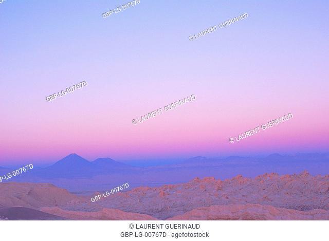 Worth of La Luna, Los Flamencos Reserve National, Atacama Desert, Region of Antofagasta, Santiago, Chile