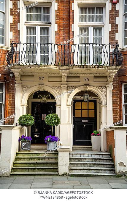 Mansion house, Green Street, W1, Mayfair, London, UK