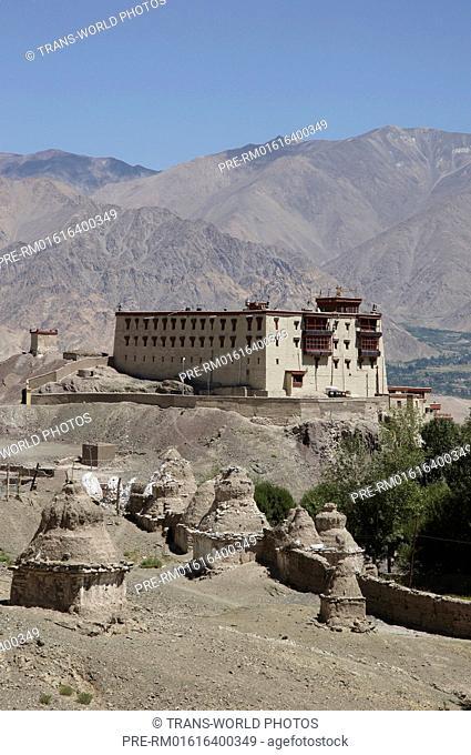 Stok with Royal Palace, Jammu and Kashmir, India / Stok mit königlichem Palast, Jammu und Kashmir, Indien