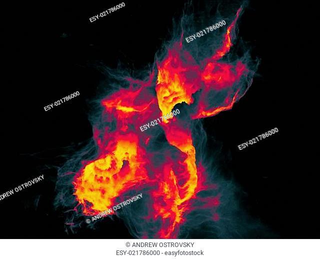 Acceleration of Fractal Burst
