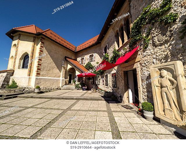 Lake Bled Castle. Slovenia