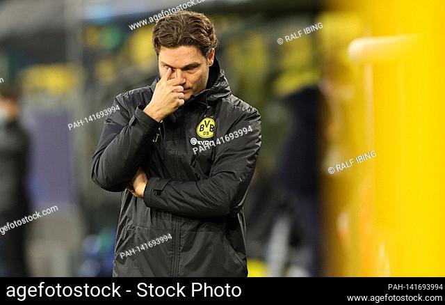 firo: 14.04.2021, Fuvuball, UEFA Champions League, CL, CHL, season 2020/2021, quarter finals, back game, BVB, Borussia Dortmund - Manchester City Portrait, BVB