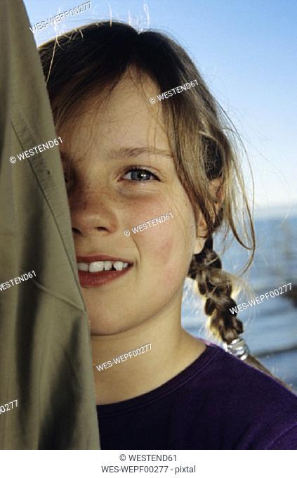 Girl smiling, portrait