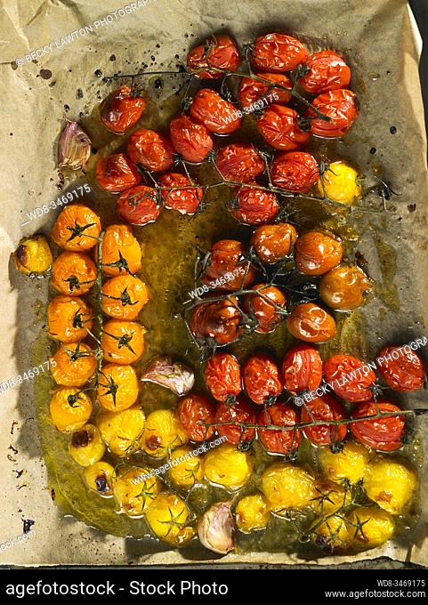 tomates asados / Roasted Tomatoes