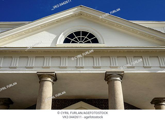 Architectural details Monticello