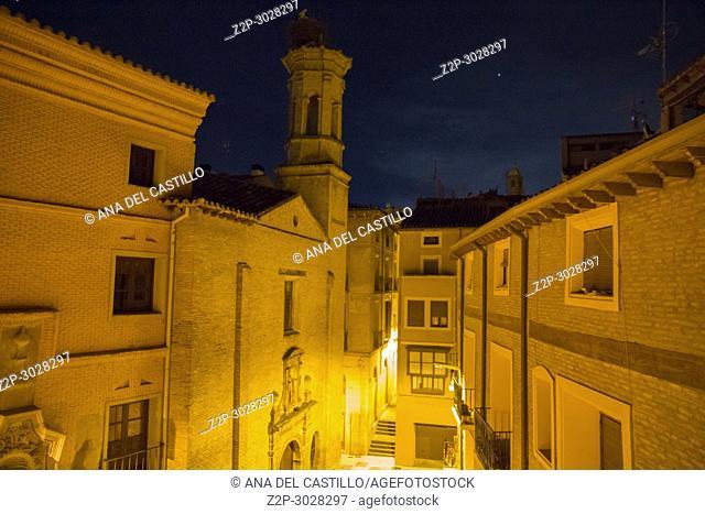 Tarazona de Aragon is a historic town in Aragon, Spain.La Merced convent