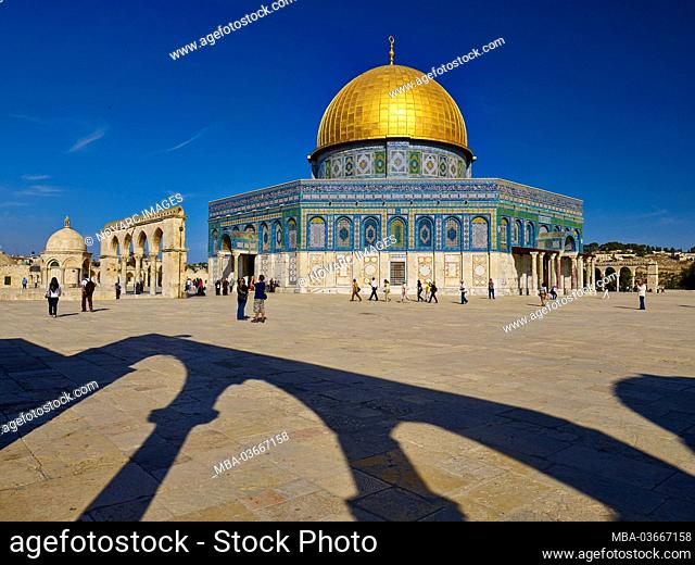 Dome of the Rock on the Temple Mount in Jerusalem, Israel