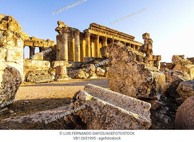 Temple of Bacchus. Baalbek, Lebanon
