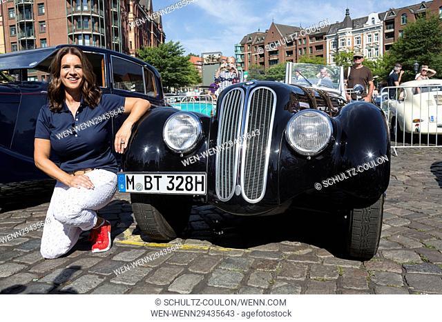 Celebrities attending the 9. Hamburg-Berlin-Klassik 2016 Rallye at Fischauktionshalle Featuring: Katarina Witt Where: Hamburg