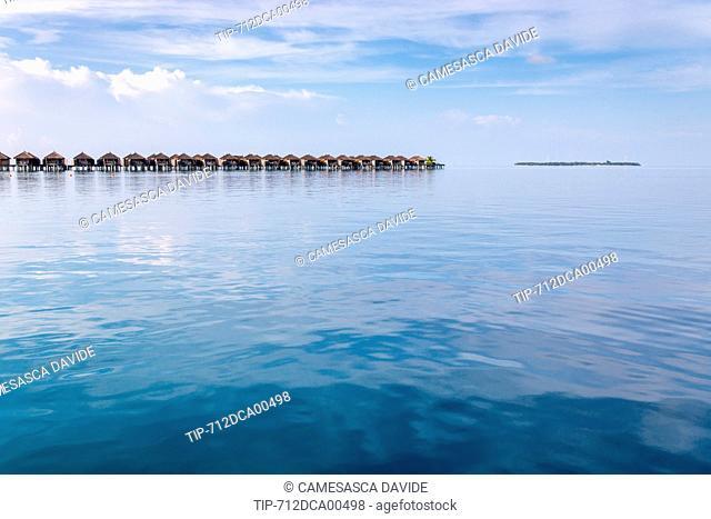 Maldives, Ari Atoll, Constance Moofushi Resort, Senior Water Villas