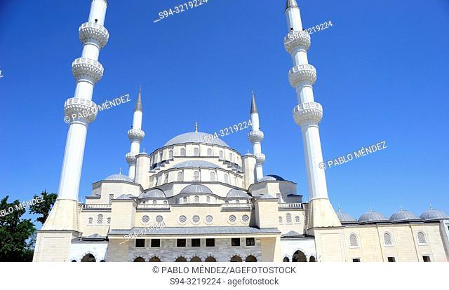 The big mosque of Bishkek, Kyrgyzstan