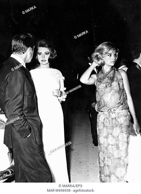 franco fabrizi, sylva koscina, virna lisi, 1964