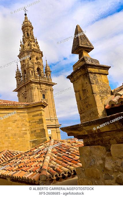 Bell Tower, Free-Standing Tower, Cathedral of Santo Domingo de la Calzada, Renaissance Style, Baroque Style, Historic-Artistic Monument