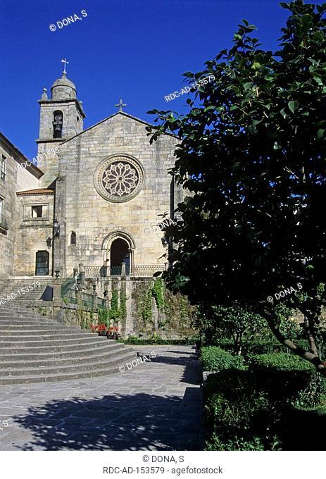 Church Saint Francis of Assisi Pontevedra Rias Baixas Galicia Spain San Francisco