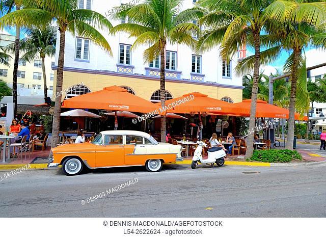 Miami Beach Florida FL Art Deco Ocean Drive South Beach