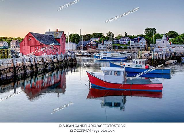 The quintessential New England Motif Number One sunrise. Located on Bradley Wharf in the harbor town of Rockport. Motif Number One has been a long time favorite...