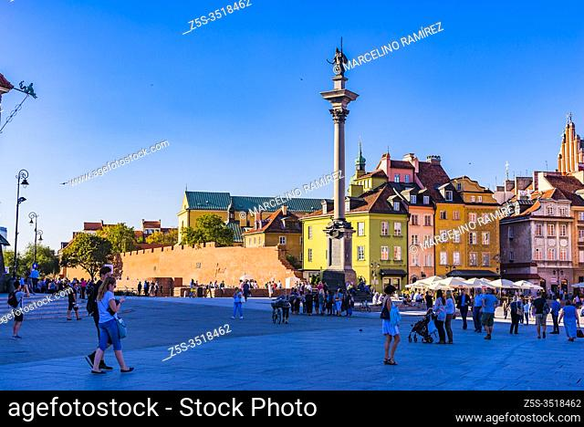Castle Square is a historic square in front of the Royal Castle. It is a popular meeting place for tourists and locals. The Square