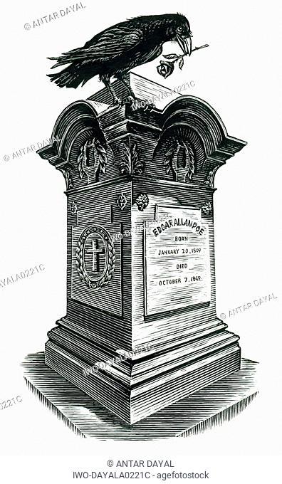 Edgar Allen Poe's grave