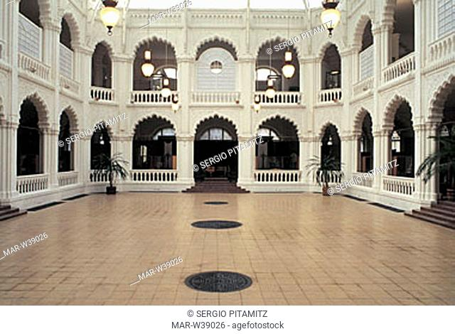 hungary, budapest, a hall of the applied arts museum