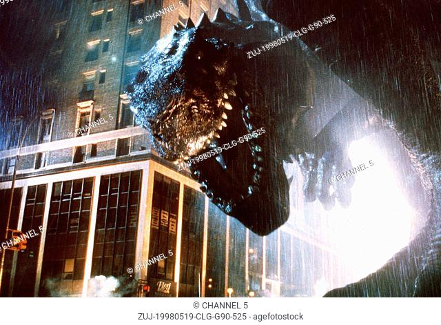 May 19, 1998; Los Angeles, CA, USA; Scene from the TriStar Pictures sci-fi/thriller, 'Godzilla.' Directed by Roland Emmerich