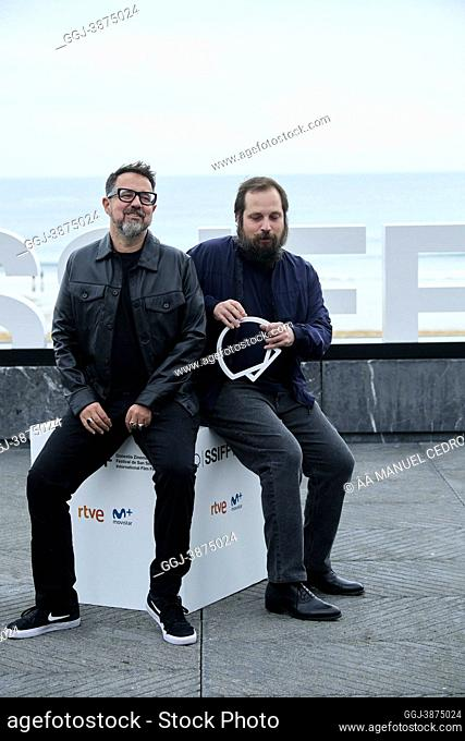 Paco Plaza, Carlos Vermut attended 'The grandmother' Photocall during 69th San Sebastian International Film Festival at Kursaal Palace on September 23