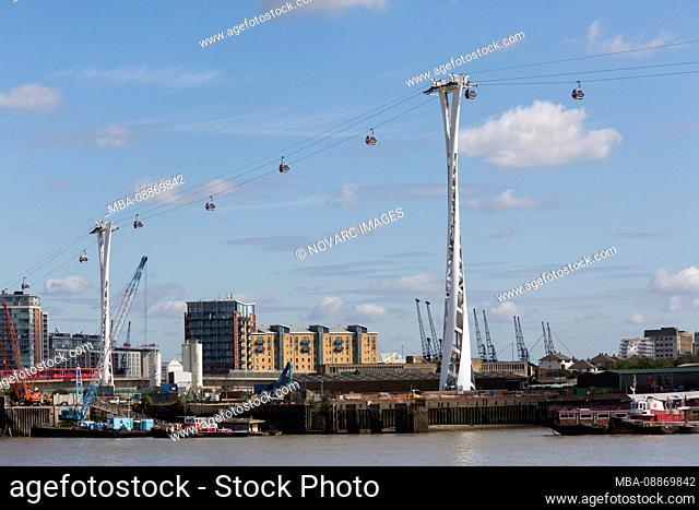 Emirates Air Line, Gondola, London, United Kingdom