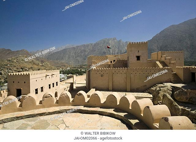 Oman, The Batinah Plain, Nakhal Fort