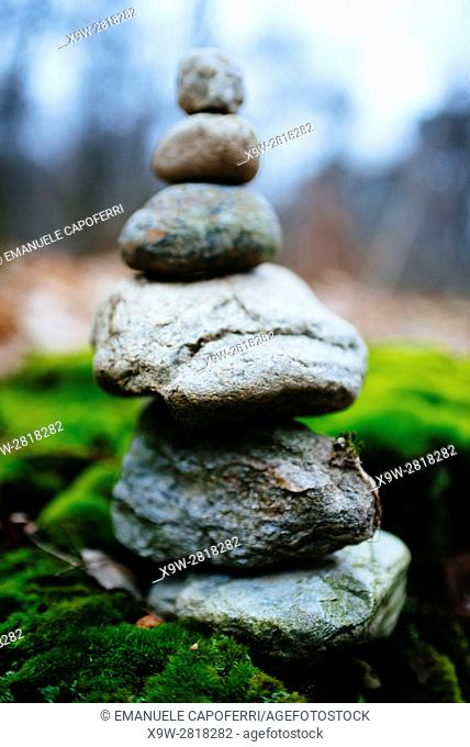 cairn marks the path