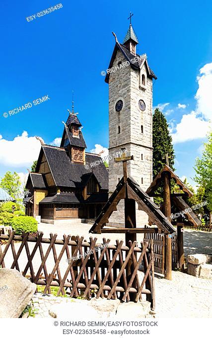 Karpacz Church, Silesia, Poland