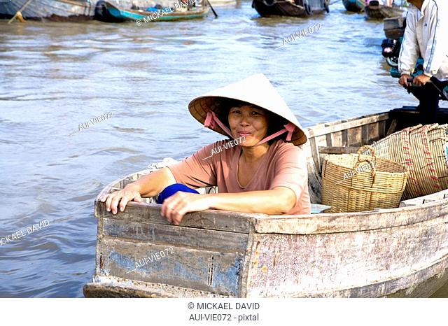 Vietnam - The South - The Delta of Mekong - Can Tho - Floating market of Cai Rang