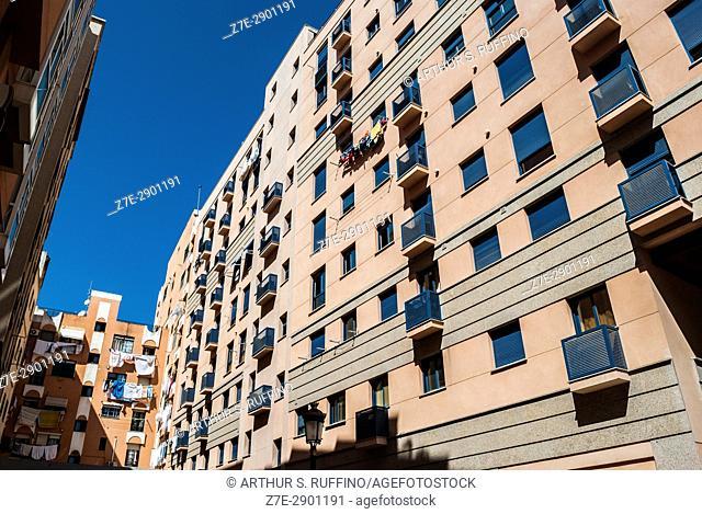 Ceuta urban environment, Ceuta, autonomous City, Spain, North Africa, Moroccan coast