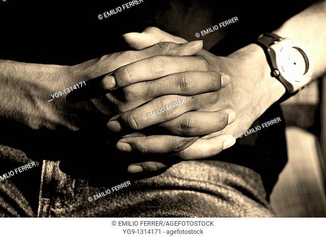 Hands  LLeida  Spain