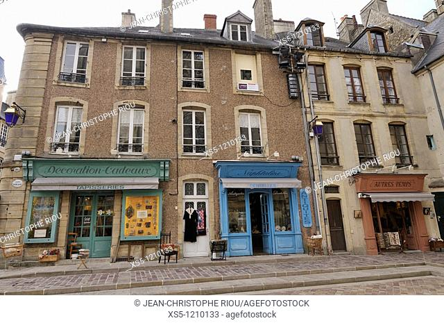 France, Normandie, Bayeux, houses